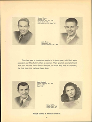 Page 15, 1948 Edition, University High School - Eagle Yearbook (Lawrence, KS) online yearbook collection