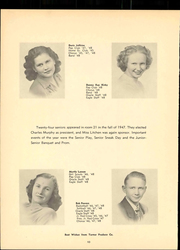 Page 16, 1948 Edition, University High School - Eagle Yearbook (Lawrence, KS) online yearbook collection