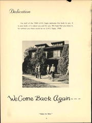 Page 8, 1948 Edition, University High School - Eagle Yearbook (Lawrence, KS) online yearbook collection