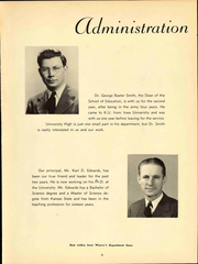 Page 9, 1948 Edition, University High School - Eagle Yearbook (Lawrence, KS) online yearbook collection