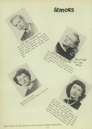 Page 10, 1949 Edition, University High School - Eagle Yearbook (Lawrence, KS) online yearbook collection