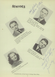 Page 13, 1949 Edition, University High School - Eagle Yearbook (Lawrence, KS) online yearbook collection