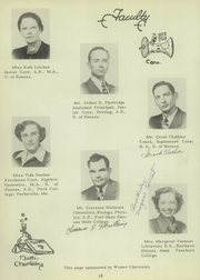 Page 16, 1949 Edition, University High School - Eagle Yearbook (Lawrence, KS) online yearbook collection