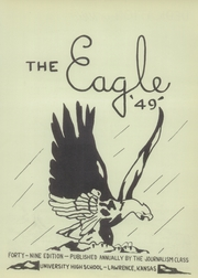 Page 7, 1949 Edition, University High School - Eagle Yearbook (Lawrence, KS) online yearbook collection