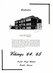 Page 7, 1965 Edition, Isabel High School - Viking Yearbook (Isabel, KS) online yearbook collection