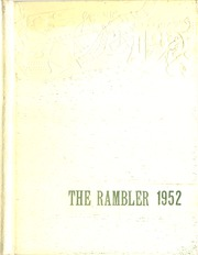 Page 1, 1952 Edition, Randolph Rural High School - Rambler Yearbook (Randolph, KS) online yearbook collection
