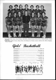 Page 15, 1952 Edition, Randolph Rural High School - Rambler Yearbook (Randolph, KS) online yearbook collection