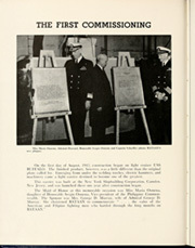 Page 10, 1952 Edition, Bataan (CVL 29) - Naval Cruise Book online yearbook collection