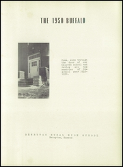 Page 7, 1950 Edition, Berryton High School - Buffalo Yearbook (Berryton, KS) online yearbook collection
