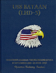 2002 Edition, Bataan (LHD 5) - Naval Cruise Book