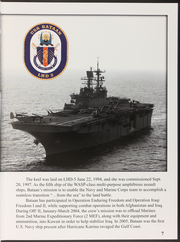 Page 9, 2007 Edition, Bataan (LHD 5) - Naval Cruise Book online yearbook collection