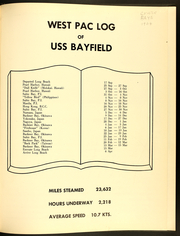 Page 5, 1964 Edition, Bayfield (APA 33) - Naval Cruise Book online yearbook collection