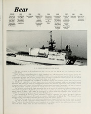 Page 9, 1983 Edition, Bear (WMEC 901) - Naval Cruise Book online yearbook collection