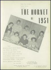 Page 7, 1951 Edition, Burns High School - Hornet Yearbook (Burns, KS) online yearbook collection