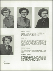 Page 16, 1954 Edition, Burns High School - Hornet Yearbook (Burns, KS) online yearbook collection