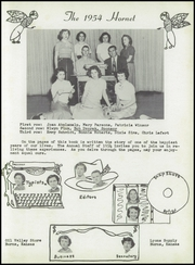 Page 7, 1954 Edition, Burns High School - Hornet Yearbook (Burns, KS) online yearbook collection