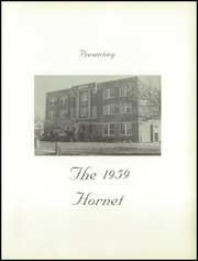 Page 5, 1959 Edition, Burns High School - Hornet Yearbook (Burns, KS) online yearbook collection
