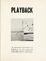 Page 5, 1965 Edition, Beatty (DD 756) - Naval Cruise Book online yearbook collection