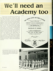 Page 10, 1987 Edition, United States Air Force Academy - Polaris Yearbook (Colorado Springs, CO) online yearbook collection
