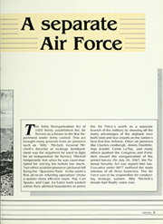 Page 9, 1987 Edition, United States Air Force Academy - Polaris Yearbook (Colorado Springs, CO) online yearbook collection