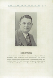 Page 9, 1936 Edition, Mineral Rural High School - Crusader Yearbook (West Mineral, KS) online yearbook collection