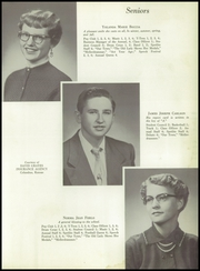 Page 15, 1955 Edition, Mineral Rural High School - Crusader Yearbook (West Mineral, KS) online yearbook collection
