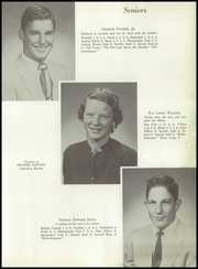 Page 17, 1955 Edition, Mineral Rural High School - Crusader Yearbook (West Mineral, KS) online yearbook collection