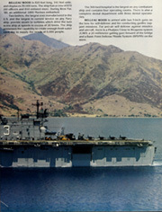 Page 13, 1989 Edition, Belleau Wood (LHA 3) - Naval Cruise Book online yearbook collection