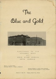 Page 3, 1943 Edition, Weir High School - Blue and Gold Yearbook (Weir, KS) online yearbook collection
