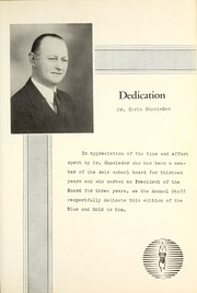 Page 9, 1953 Edition, Weir High School - Blue and Gold Yearbook (Weir, KS) online yearbook collection