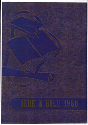 1955 Edition, Weir High School - Blue and Gold Yearbook (Weir, KS)