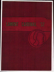 Page 1, 1952 Edition, Lamont High School - Yearbook (Lamont, KS) online yearbook collection