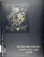 1961 Edition, Benner (DD 807) - Naval Cruise Book