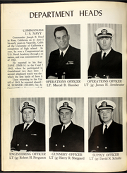 Page 10, 1961 Edition, Benner (DD 807) - Naval Cruise Book online yearbook collection