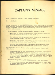Page 4, 1961 Edition, Benner (DD 807) - Naval Cruise Book online yearbook collection