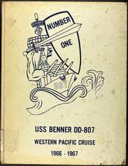 1967 Edition, Benner (DD 807) - Naval Cruise Book