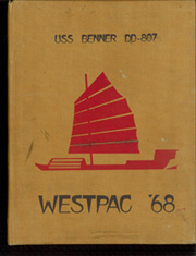 1968 Edition, Benner (DD 807) - Naval Cruise Book
