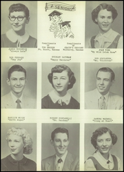 Page 12, 1955 Edition, Mulberry High School - Tiger Yearbook (Mulberry, KS) online yearbook collection