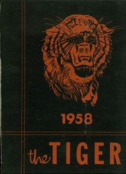 Mulberry High School - Tiger Yearbook (Mulberry, KS) online yearbook collection, 1958 Edition, Page 1