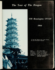 Page 5, 1964 Edition, Bennington (CVS 20) - Naval Cruise Book online yearbook collection
