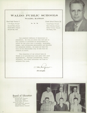 Page 6, 1959 Edition, Waldo High School - Warrior Yearbook (Waldo, KS) online yearbook collection