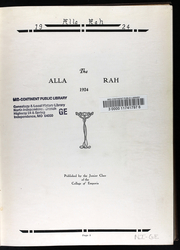 Page 8, 1924 Edition, College of Emporia - Alla Rah Yearbook (Emporia, KS) online yearbook collection