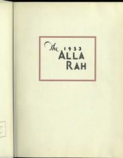 Page 9, 1933 Edition, College of Emporia - Alla Rah Yearbook (Emporia, KS) online yearbook collection