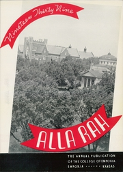 Page 9, 1939 Edition, College of Emporia - Alla Rah Yearbook (Emporia, KS) online yearbook collection