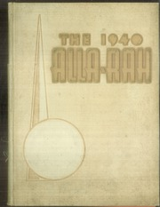 Page 1, 1940 Edition, College of Emporia - Alla Rah Yearbook (Emporia, KS) online yearbook collection