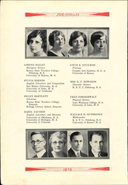 Page 12, 1929 Edition, Labette Community College - Parkan Yearbook (Parsons, KS) online yearbook collection