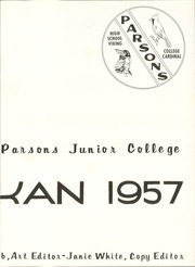 Page 7, 1957 Edition, Labette Community College - Parkan Yearbook (Parsons, KS) online yearbook collection