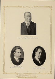 Page 14, 1922 Edition, Kansas Wesleyan University - Coyote Yearbook (Salina, KS) online yearbook collection