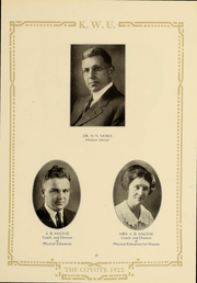 Page 15, 1922 Edition, Kansas Wesleyan University - Coyote Yearbook (Salina, KS) online yearbook collection