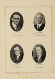 Page 16, 1922 Edition, Kansas Wesleyan University - Coyote Yearbook (Salina, KS) online yearbook collection